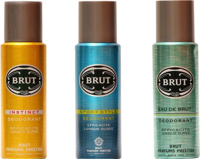 Brut Instinct,Sports,Eau De Brut Combo Set