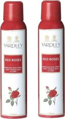 Yardley Red Roses Combo Set