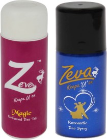 Zeva Keepz U On WITHOUT ALCOHOL WOMEN DEODORANT GIFTSET Combo Set