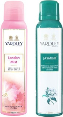 Yardley London Mist and Jasmine Combo Set