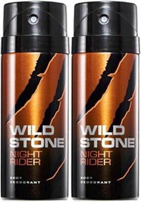 Wild Stone Night Rider Deodorant Spray Combo Set