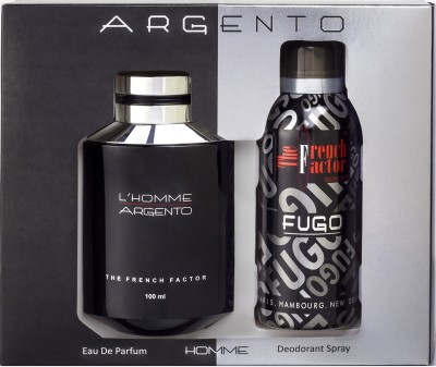 French Factor L,Homme Argento Gift Set