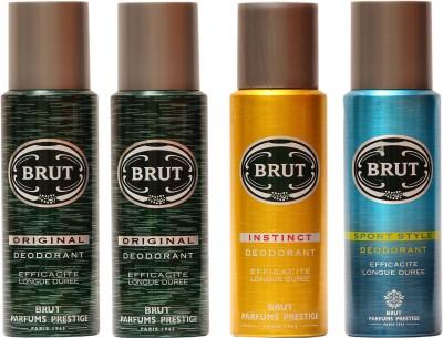 Brut Original,Instinct,Sports Combo Set
