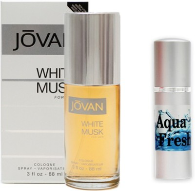 Jovan White Musk Perfume And Aqua Fresh Combo Set
