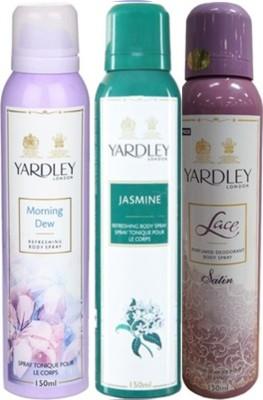 Yardley Deodorants combo No-86 Combo Set