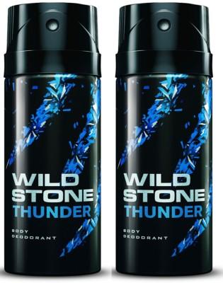 Wild Stone Thunder Deodorant Spray Combo Set