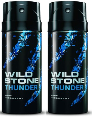 Wild Stone Thunder Deodorant Spray Combo Set(Set of 2)