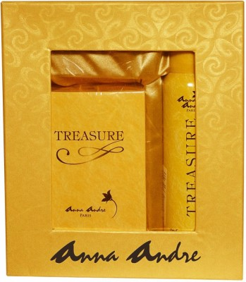 Anna Andre Paris Treasure Perfume & deodorant Gift Set