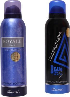 Rasasi Royale Blue Men::Blue Incontournable Combo Set