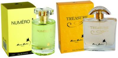 Anna Andre Paris Set of Numero I EDT & Treasure EDT Gift Set