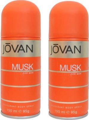 Jovan Musk and Musk Combo Set