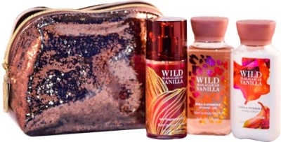Bath & Body Works Wild Madagascar Vanilla Glitz & Glamour Gift Set