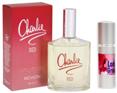 Revlon Charlie Red Perfume And Lady Grace Combo Set
