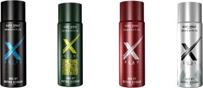 Hrx By Hrithik Roshan Body Spray Combo Set