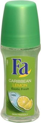 Fa CARIBBEAN LEMON Deodorant Roll-on  -  For Boys