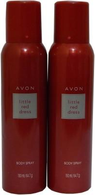 Avon Little Red Dress Body Each 150 ml Combo Set