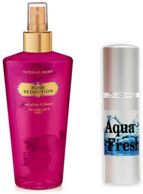 Victoria's Secret Pure Seduction and Aqua Fresh Combo Set
