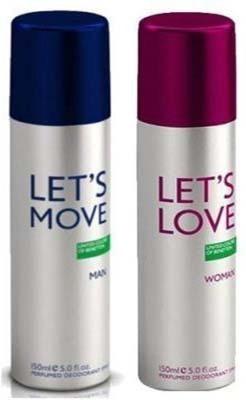 Benetton Let's Love Let's Move Combo Set