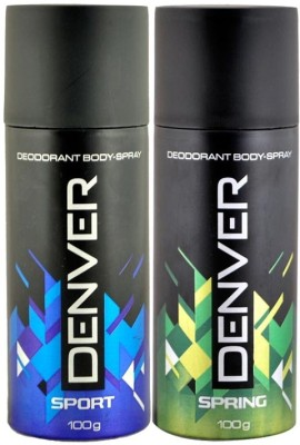 Denver Deodorant No- Gift Set  Combo Set
