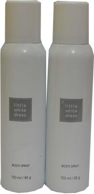 Avon Little White Dress Body Each 150 ml Combo Set