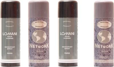 Lomani Network,Lomani Pour Homme Combo Set