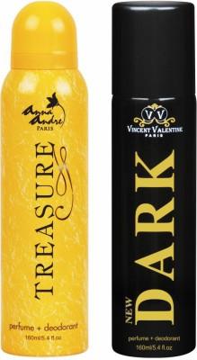 Anna Andre Paris Treasure & Dark Deodorant Combo Set