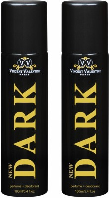 Vincent Valentine Paris Set of 2 New Dark Deodorants Combo Set