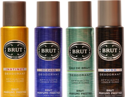 Brut Musk,Oceans,Original,Eau De Brut Combo Set