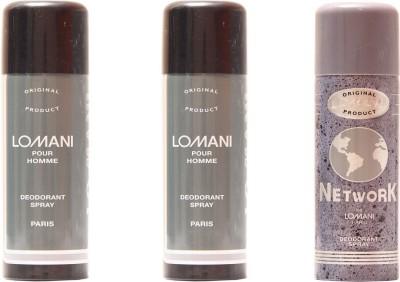 Lomani Lomani Pour Homme,Network Combo Set