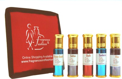Fragrance And Fashion Set of 5 Arabian Fragrances Gift Set