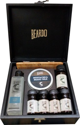 Beardo The Black Velvette Gift Combo Set