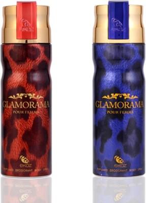 Arabian Nights Glamorama Deodorants Combo Set