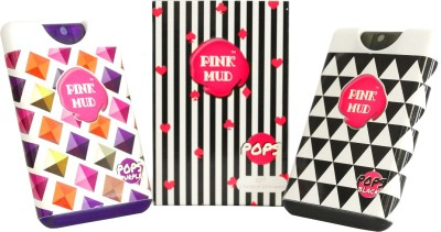 Pink Mud Pops Black and Purple Combo Gift Set