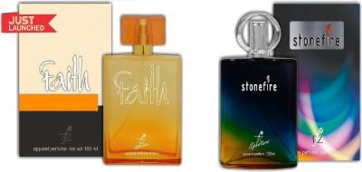 TFZ Faith And StoneFire Combo Eau de Parfum  -  200 ml