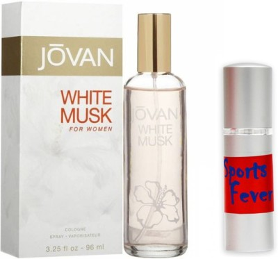 Jovan White Musk Woman Perfume And Sports Fever Combo Set