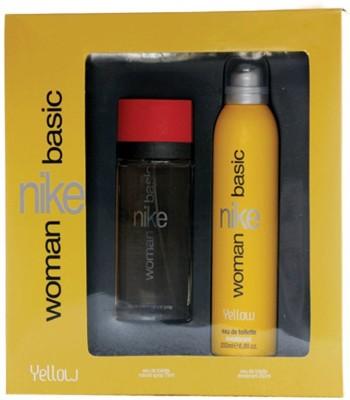 Nike Basic Yellow Gift Set