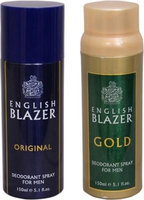 English Blazer Original::Gold Combo Set