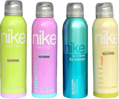 Nike Set Of 4 Deo For Women Combo Set(Set of 4)