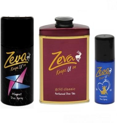 Zeva Keepz U On deodorant men & women body spray unisex Gift Set  Combo Set