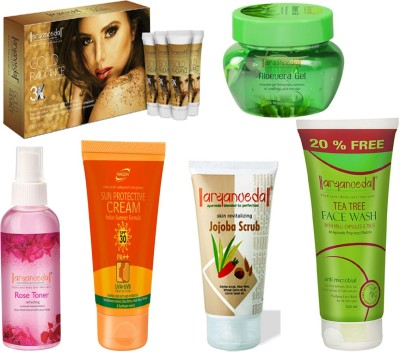 Aryanveda Facial Kit With 5 Skin Care Product Combo