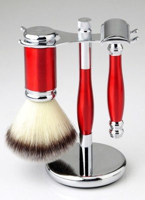 Pearl shaving sets SRB-33 red