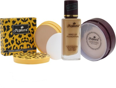 Amura Colour Cosmetics Face Makeup Combo