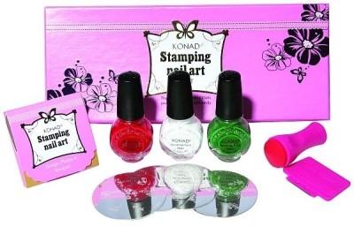 Konad Stamping Nail Art Kit - Set B