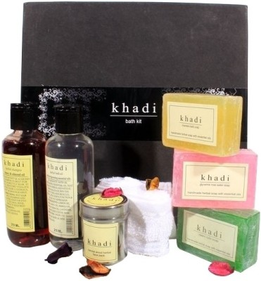 khadi Natural Bath Kit