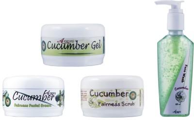 Adidev Herbals Ayurvedic Skin Brightening Cucumber Fairness Pack