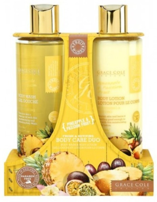 Grace Cole Pineapple & Passion Fruit Body Care Duo(Set of 2)