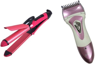 Mify Supper Hair Straightener & Trimmer combo kit
