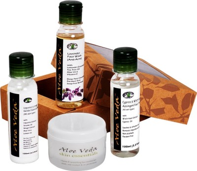 Aloe Veda Complete Face Care Collection - Winter Selection