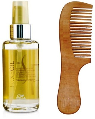 Wella Professionals Wella Luxeoil For kertain Protection Serum 100ml With 19 cm Comb