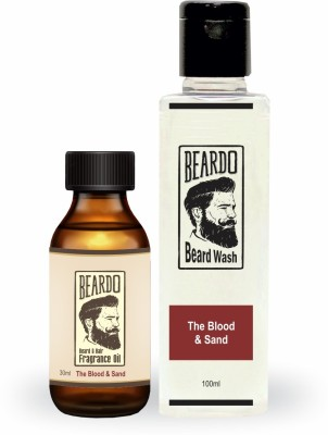 Beardo The Blood & Sand Oil (30ml) & Beard Wash Combo (100ml)